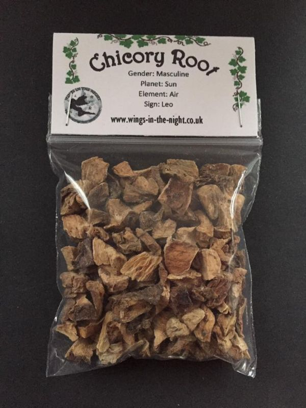 CHICORY ROOT Dried Magical Herb 25g